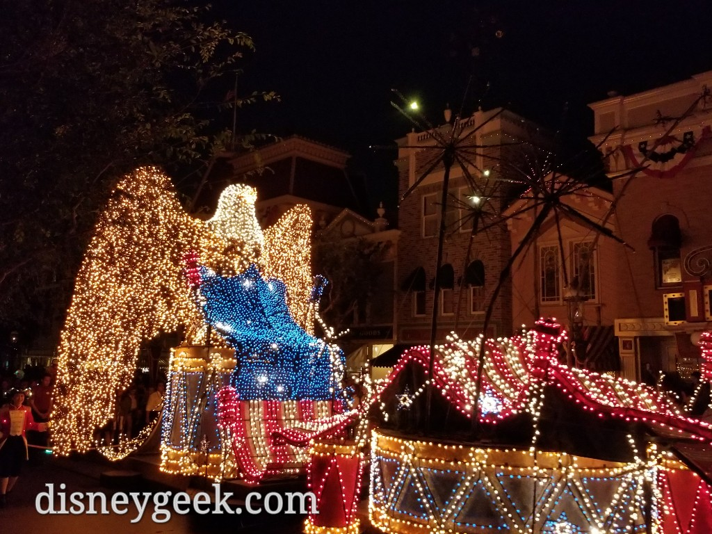 Disneyland Main Street Electrical Parade Finale The