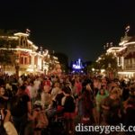 #Disneyland Main Street after MSEP waiting for Remember Dreams Come True