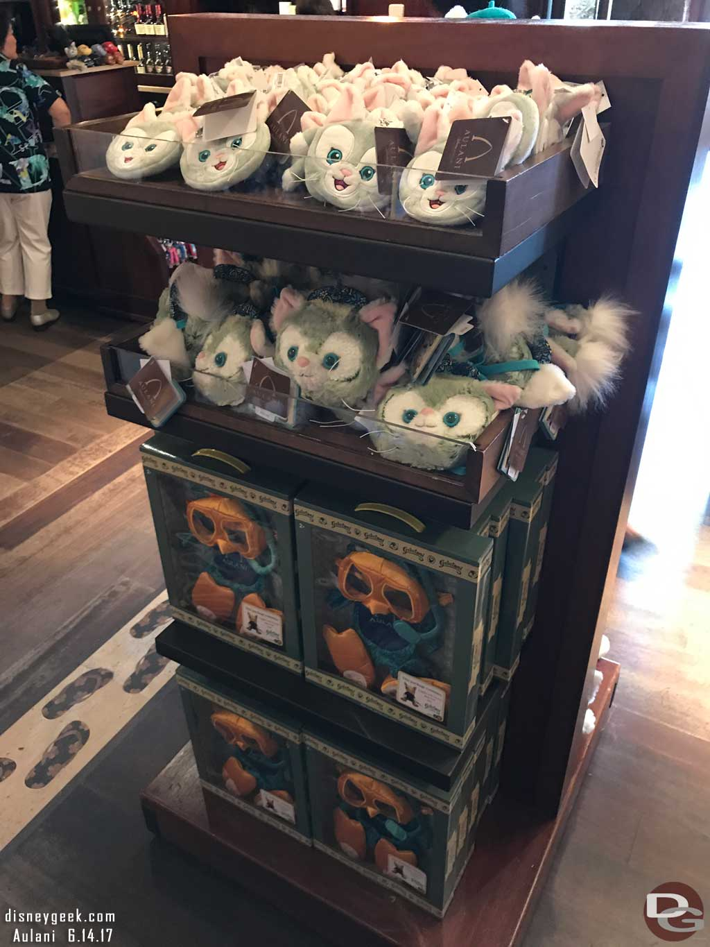 Gelatoni Merchandise at Aulani