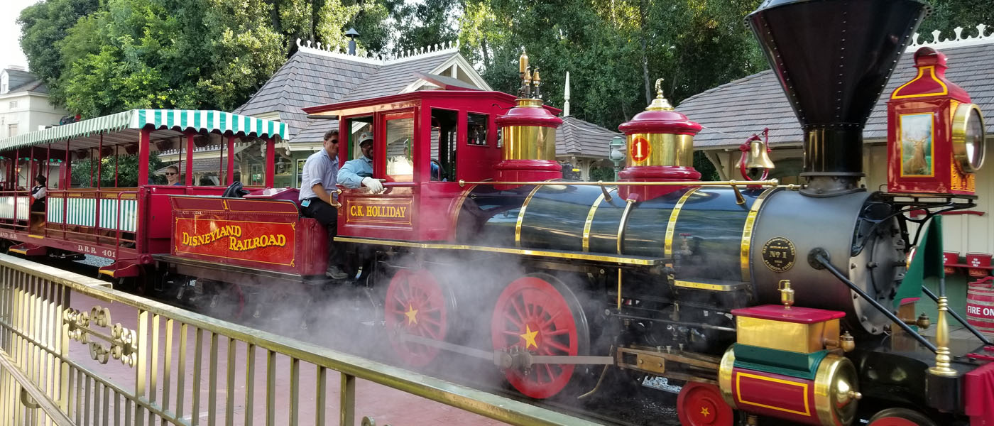 Disneyland Railroad Conducting Test Runs (Pictures & Video)