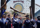 United States Air Force Honor Guard at Disneyland Resort