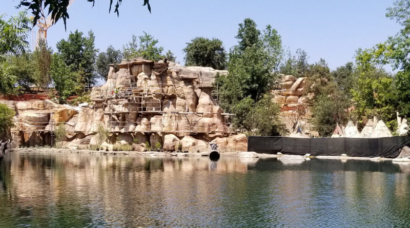 Rivers of America Construction
