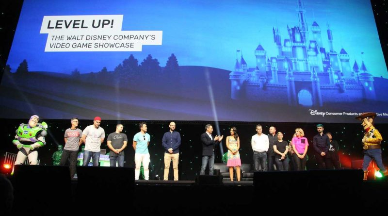 D23 Expo - Disney Interactive Level Up