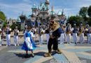 #Disneyland Band  joined by Belle and the Beast