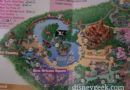 From yesterday #Disneyland guide maps show the new train & river routes