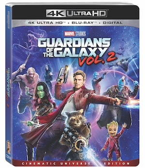 Guardians of the Galaxy Vol 2 - Home Video