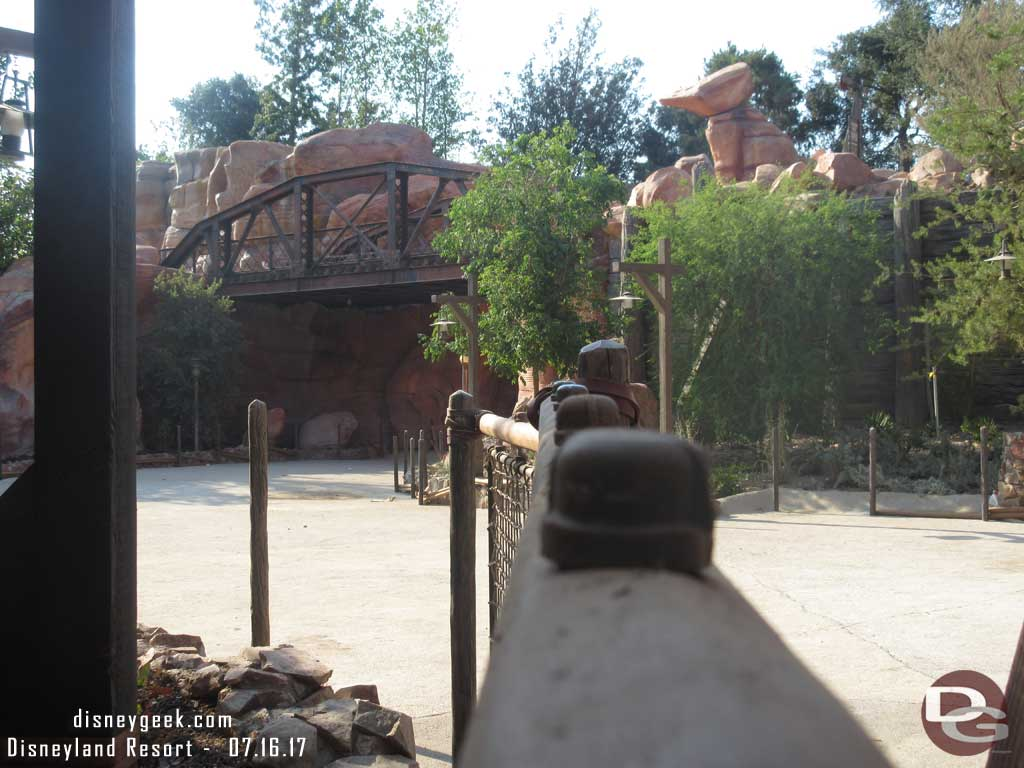 Star Wars: Galaxy's Edge Entrance from Big Thunder Trail