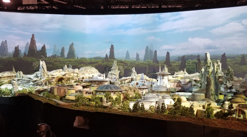 D232 Expo - Star Wars Land Model