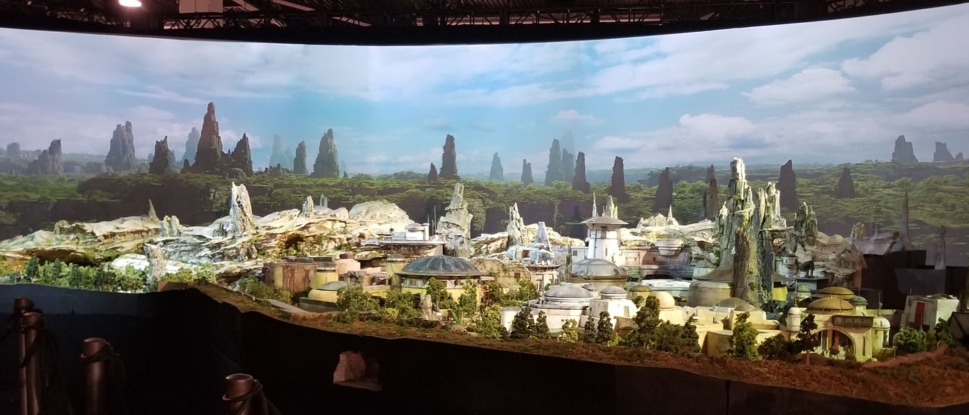1st Look – D23 Expo Parks & Resorts– A Galaxy of Stories – Star Wars