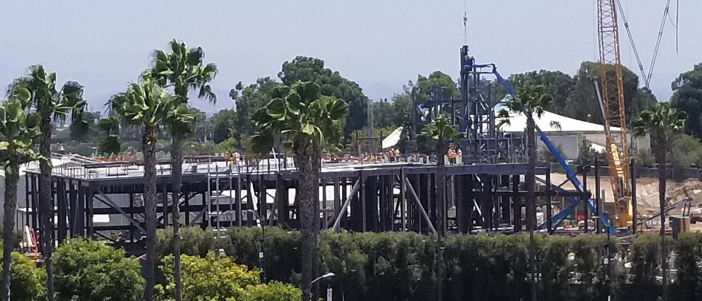Disneyland Star Wars Construction Check (7/21)