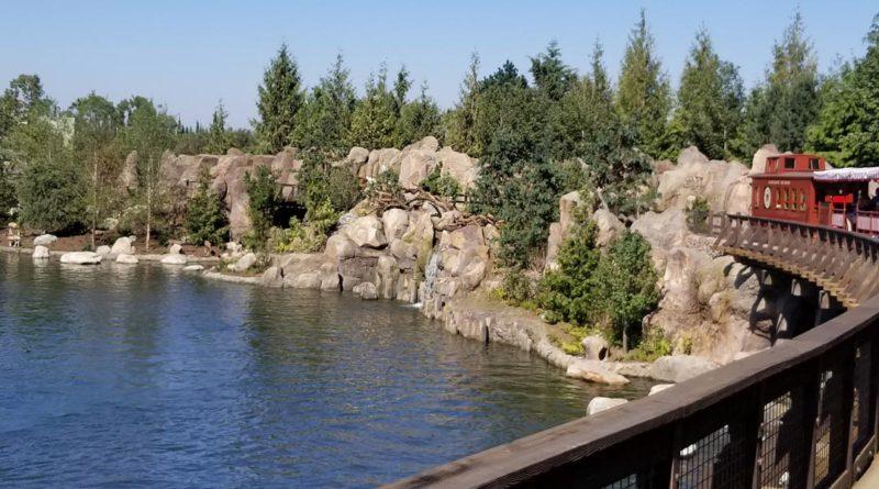 Disneyland Railroad - 7/29