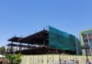 Splitsville construction in Downtown Disney (several pictures )
