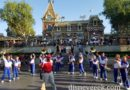 2017 #Disneyland All-american College Band performing in Town Square