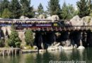 #Disneyland Railroad passing by the Rivers of America
