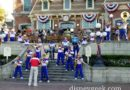 #Disneyland All-American College Band performing in Town Square