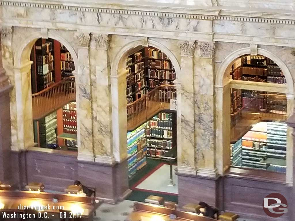 Library Of Congress Main Reading Room Windowa