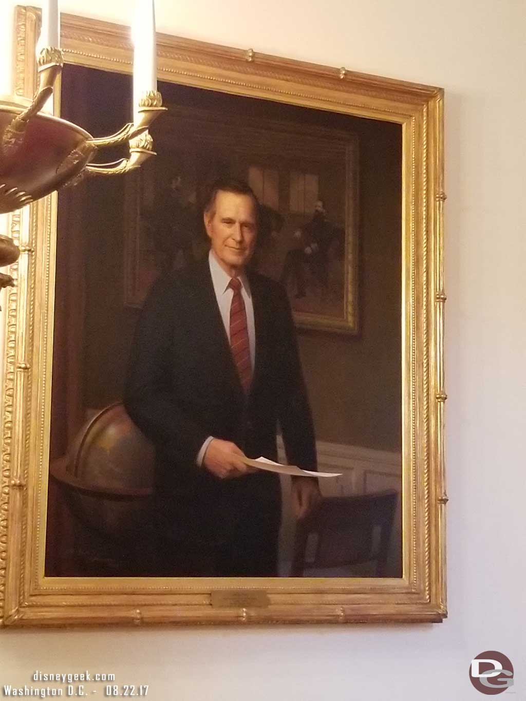 President George H.W. Bush Portrait