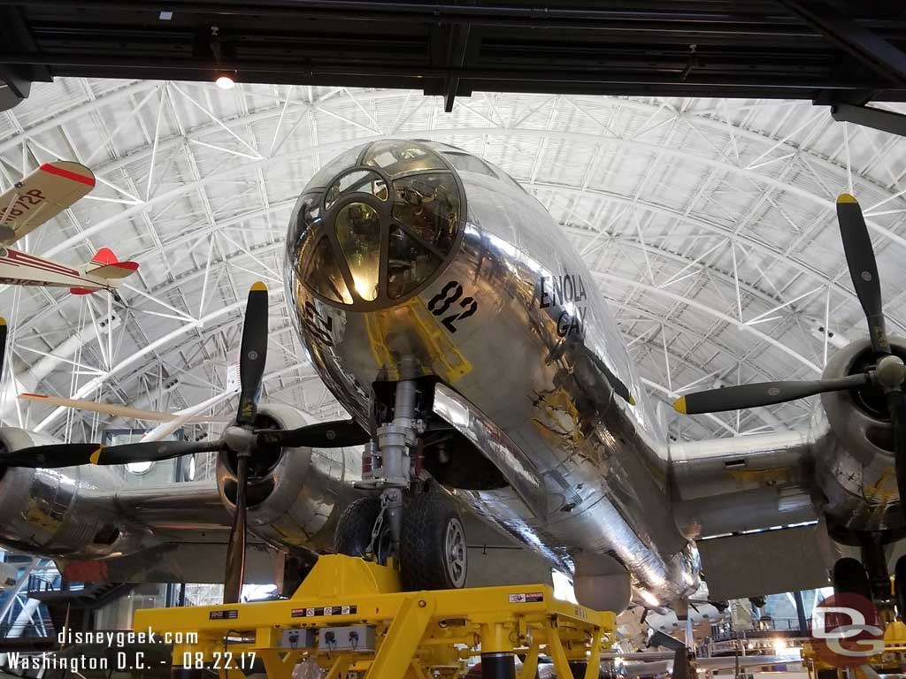 Boeing B-29 Superfortress - Enola Gay. This is the plane that dropped the atomic bomb on Hiroshima, Japan