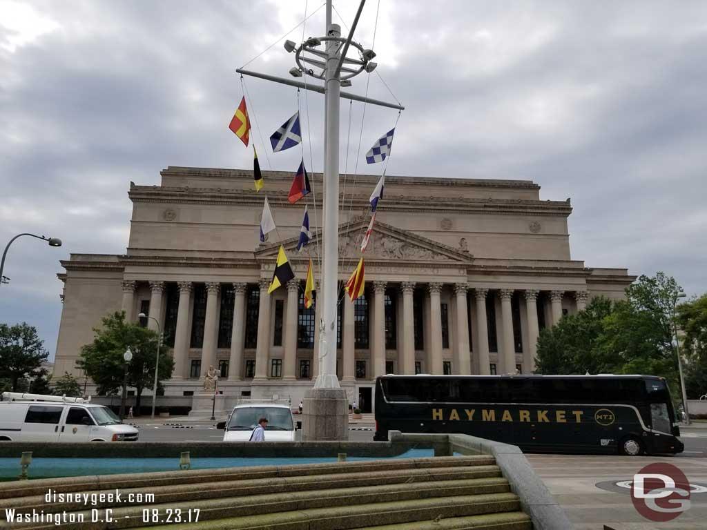 U.S. Navy Memorial Plaza