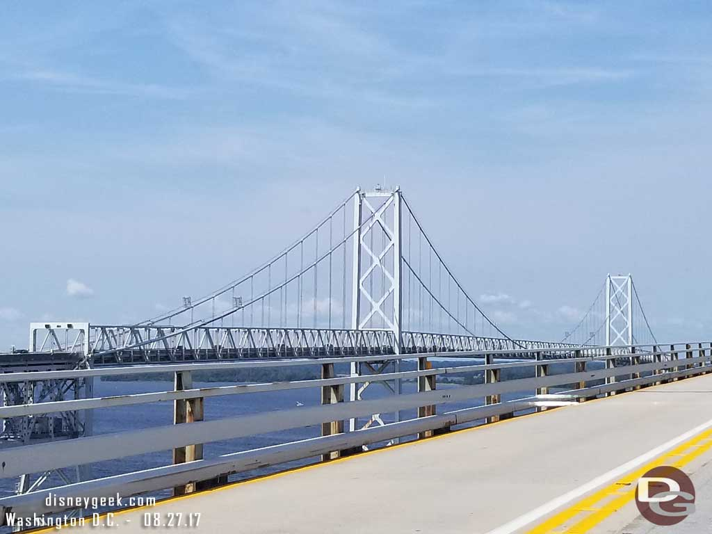 Crossing the Chesapeake Bay Bridge