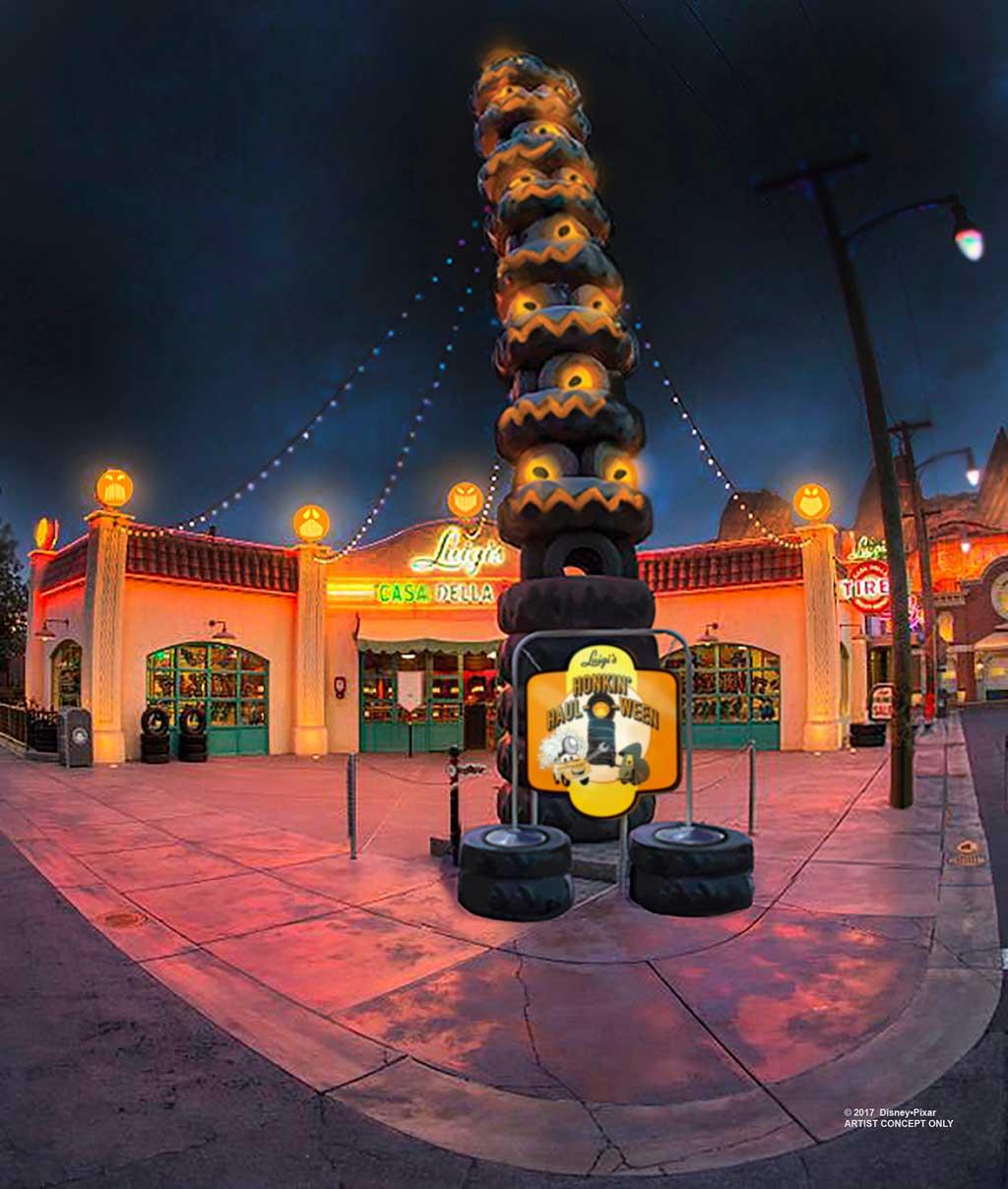 Disney California Adventure Halloween Details
