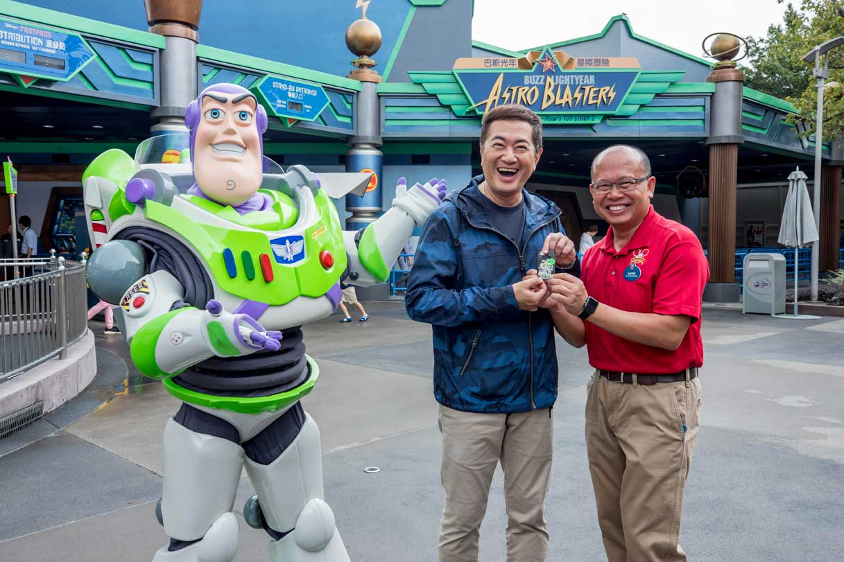 Hong Kong Disneyland - Buzz Lightyear