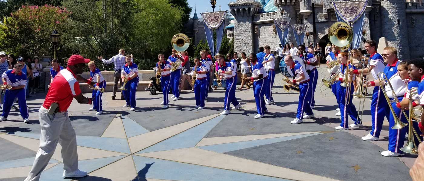 2017 Disneyland Resort All-American College Band – Final Day (Pictures & Video)