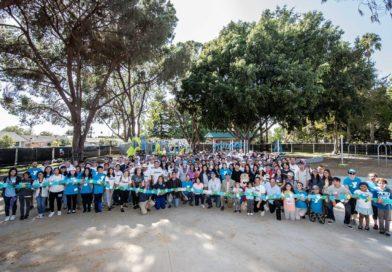 Volunteers Build Ninth Disney-Sponsored Kaboom! Playground At Willow Park In Anaheim