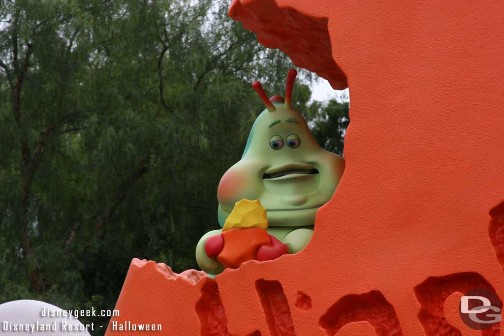 Heimlich made appearances throughout the day and various shows.