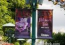 Mater is featured on Downtown Disney Halloween Banners