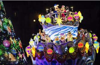 """Disney Christmas"" at Tokyo DisneySea"