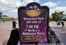 #Disneyland Halloween party tonight is not sold out