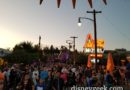 Route 66 in Cars Land this evening
