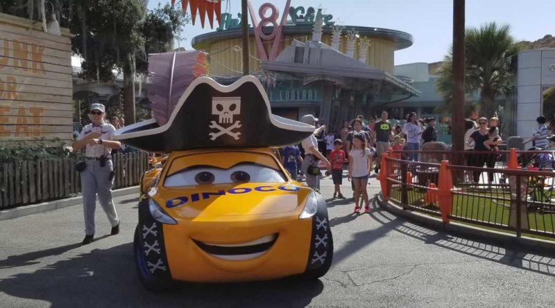 Pirate Cruz in Cars Land