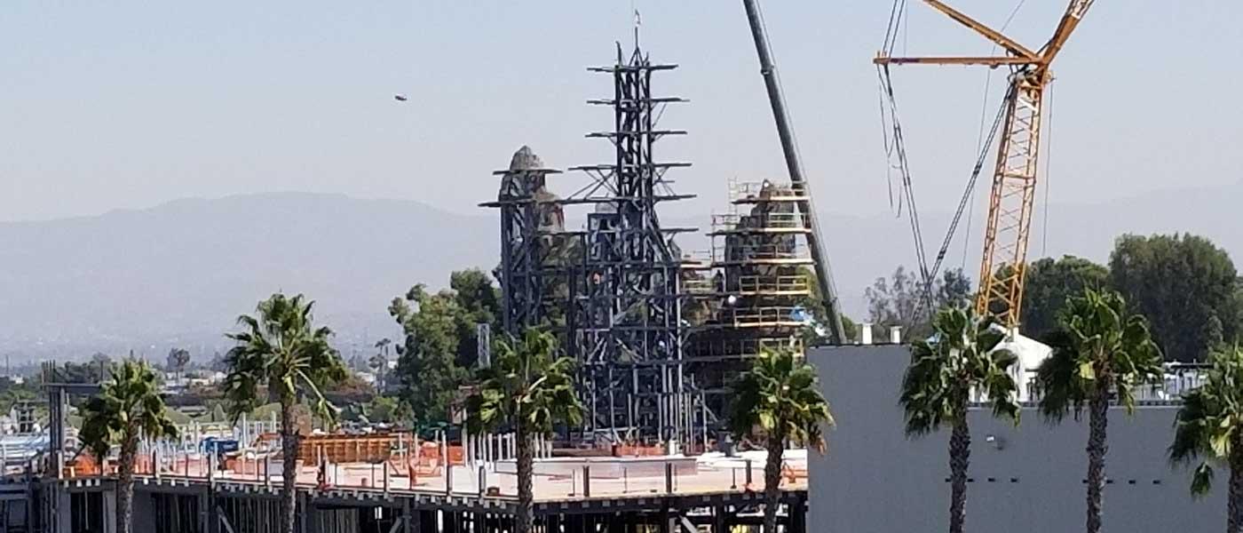 Disneyland Star Wars Construction Check (10/06)