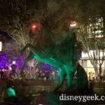 Headless Horseman statue on Buena Vista Street