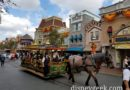 #Disneyland Main Street USA Horse Drawn Street Car