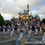 #Disneyland Band performing in front of Sleeping Beauty Castle