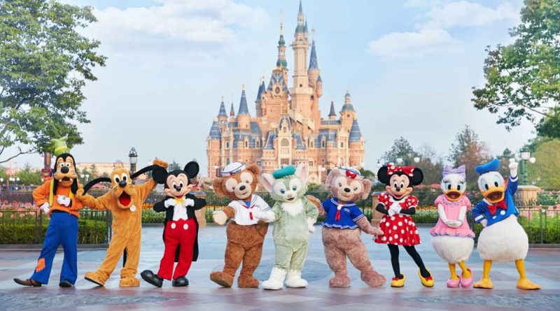 Mickey and other Disney friends welcomed Gelatoni