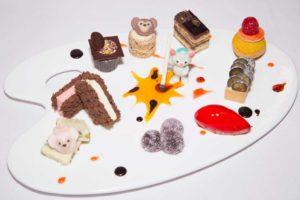 Duffy, ShellieMay and Gelatoni-themed dessert