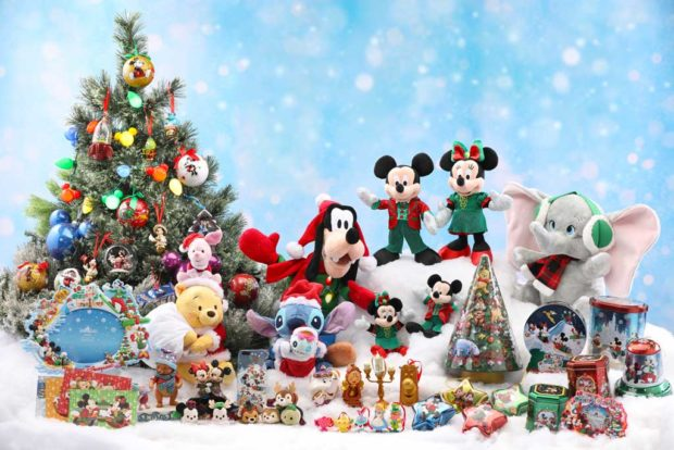 Merchandise - Mickey and Friends Group shot