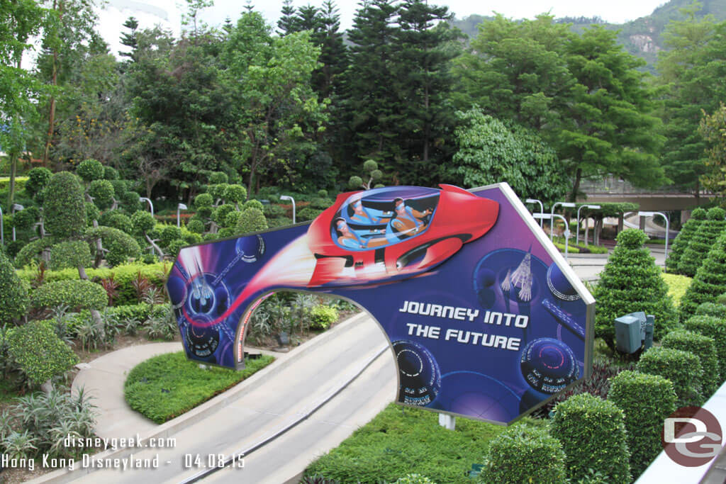 Hong Kong Disneyland - Tomorrowland - Autopia