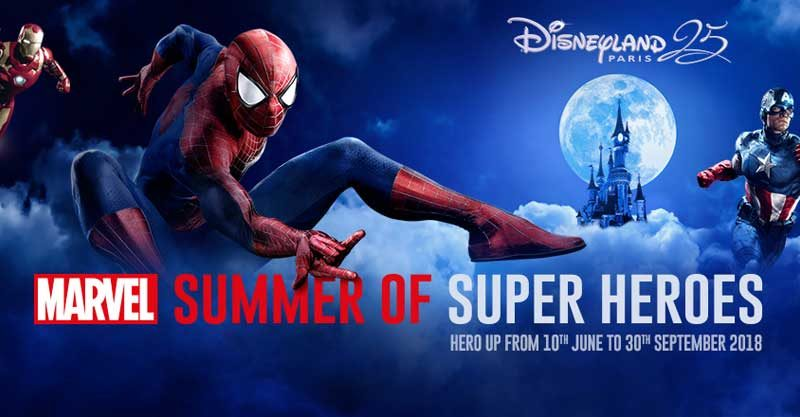 Marvel Super Heroes come to Disneyland Paris in summer 2018