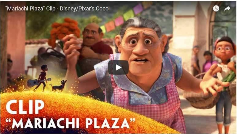 Disney Pixar Coco Clips