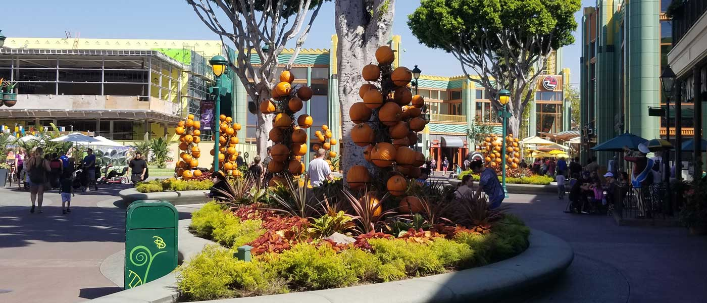 Downtown Disney Halloween Decoration Pictures