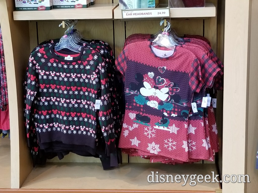 World of Disney Christmas Merchandise (several pictures