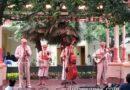 Ellis Island Boys performing in Paradise Gardens