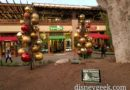 Downtown Disney Christmas decoration installations (several pics)