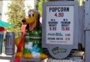 Pluto Holiday Popcorn Buckets are available throughtout the parks