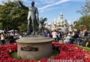 Walt, Mickey & Sleeping Beauty Castle at Disneyland